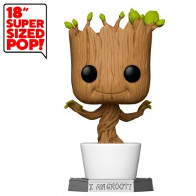 Figura POP Marvel Guardians of the Galaxy Dancing Groot 45cm