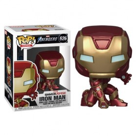 Figura POP Marvel Avengers Game Iron Man Stark Tech Suit