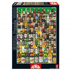 Puzzle Cervezas 1000pz
