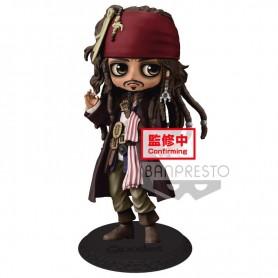 Figura Jack Sparrow Piratas del Caribe Disney Q Posket A 14cm