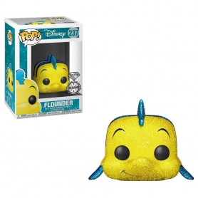 Figura POP Disney The Little Mermaid Flounder Glitter Exclusive