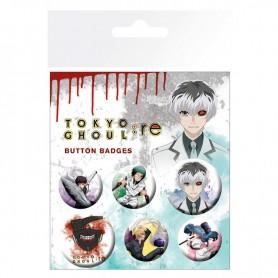 Set chapas Tokyo Ghoul RE