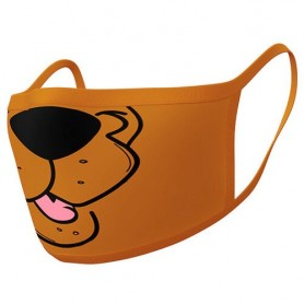 Pack 2 mascarillas reutilizables premium Scooby Doo