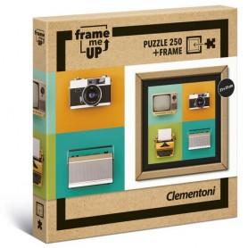Puzzle Vintage Electronics Frame Me Up 250pzs