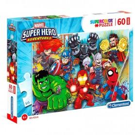 Puzzle Maxi Superhero Marvel 60pzs
