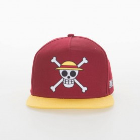 One Piece Gorra Snapback Monkey D. Luffy