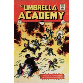 The Umbrella Academy Set de 5 Pósteres School is in Session 61 x 91 cm
