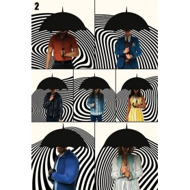 copy of The Umbrella Academy Set de 5 Pósteres School is in Session 61 x 91 cm