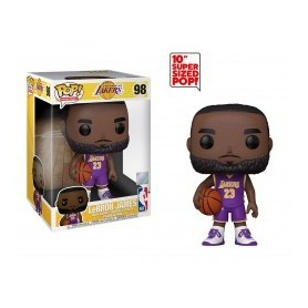 NBA Figura Super Sized POP! Vinyl LeBron James (Purple Jersey) 25 cm