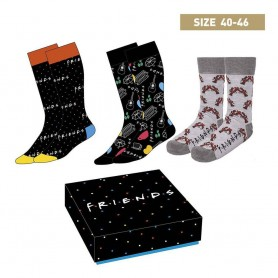 Friends Pack de 3 Pares de calcetines Symbols 40-46