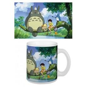 Studio Ghibli Taza Totoro Fishing
