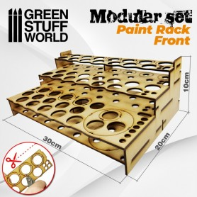 Organizador Modular Pinturas - FRONTAL
