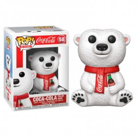 Figura POP! Coca Cola Polar Bear 9 cm 58