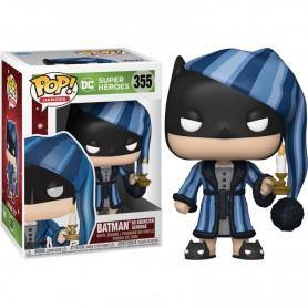 DC Comics Figura POP! Heroes Vinyl DC Holiday: Batman as Ebenezer Scrooge 9 cm 355