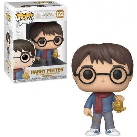 Harry Potter Figura POP! Vinyl Holiday Harry Potter 9 cm 122