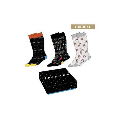 copy of Friends Pack de 3 Pares de calcetines Symbols 40-46