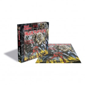 Iron Maiden Rock Saws Puzzle The Number Of The Beast (1000 piezas)