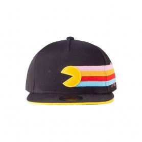 Pac-Man Gorra Snapback Stripes