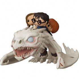 Figura POP Gringotts Dragon con Harry, Ron y Hermione Harry Potter