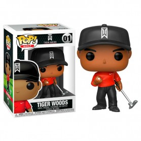 Funko POP! Tiger Woods (Red Shirt) - Golf 9cm 01