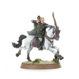 Legolas (a caballo, con arco)
