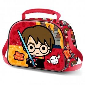 Bolsa portameriendas 3D Chibi Harry Potter