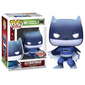 Figura POP DC Holiday Silent Knight Batman 9cm 366
