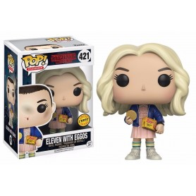 Stranger Things POP! TV Vinyl Figuren Eleven With Eggos 9 cm