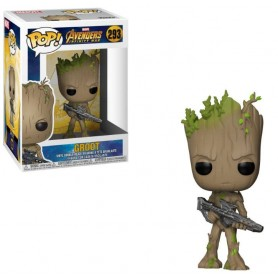 Avengers Infinity War Figura POP! Movies Vinyl Groot 9 cm 293