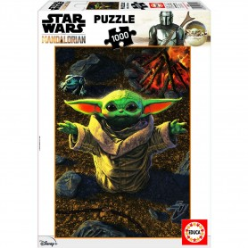 Puzzle Baby Yoda the Mandalorian Star Wars 1000pz