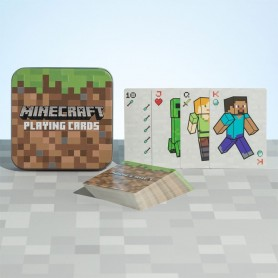 Minecraft Baraja de Naipes