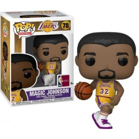 NBA Legends POP! Sports Vinyl Figura Magic Johnson (Lakers home) 9 cm