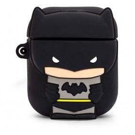 DC Comics PowerSquad Caja de Carga Inalámbrica para AirPods Batman