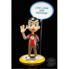 The Big Bang Theory Figura Q-Pop Sheldon Cooper 9 cm