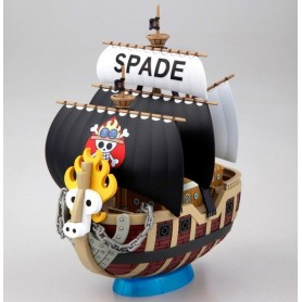 Bandai Grand Ship Collection maquetación Spade Pirates 15 cm