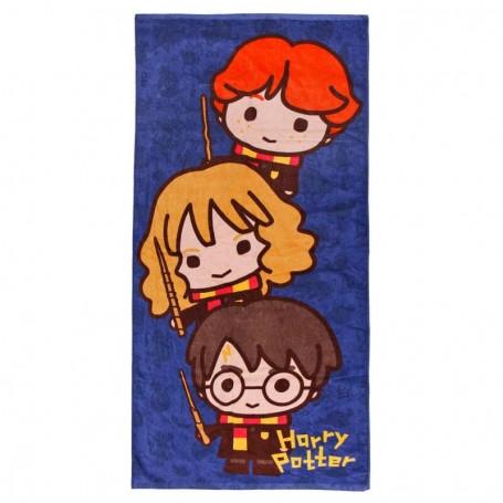 Toalla Chibi Harry Potter algodón