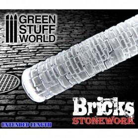 Rodillo Texturizado Ladrillos - Bricks