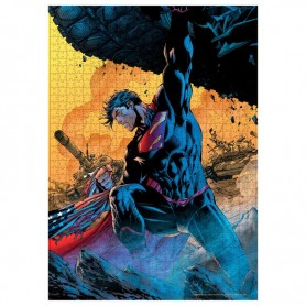 Puzzle Superman Tanque DC Comics 1000pzs