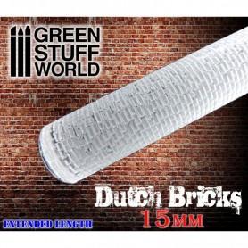 Rodillo Texturizado Ladrillos Holandeses 15mm (Dutch Bricks 15mm)