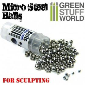 Micro Bolas de Acero (2-4mm)