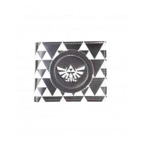 The Legend of Zelda Monedero Triforce Black & White