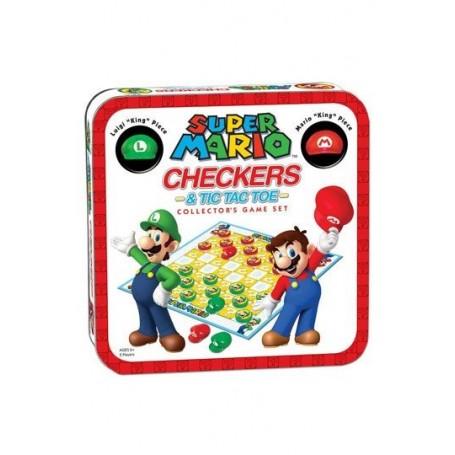 Super Mario Juego de Mesa Damas Collector's Game