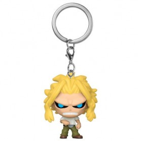 Llavero Pocket POP My Hero Academia All Might Weakened State