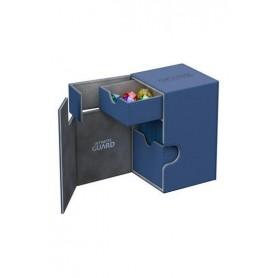Ultimate Guard Flip´n´Tray Deck Case 100+ Caja de Cartas Tamaño Estándar XenoSkin Azul