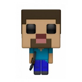 Minecraft Figura POP! Games Vinyl Steve 9 cm 316