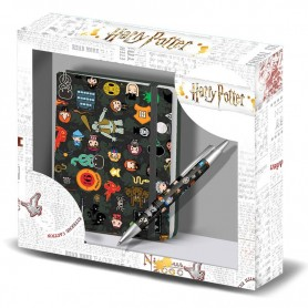 Set diario + boligrafo Leviosa Harry Potter