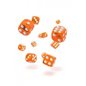 copy of Oakie Doakie Dice Dados D6 12 mm Marble - Amarillo (36)