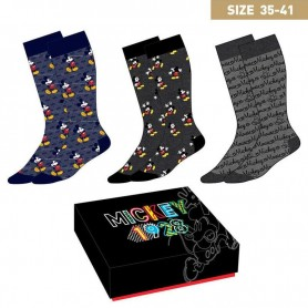 Pack 3 calcetines Mickey Disney mujer