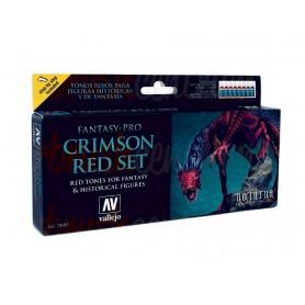 Set 8 Fantasy Pro Crimson Red