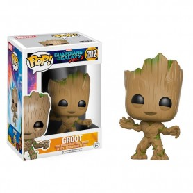 Guardianes de la Galaxia Vol. 2 POP! Marvel Vinyl Figura Young Groot 9cm 202